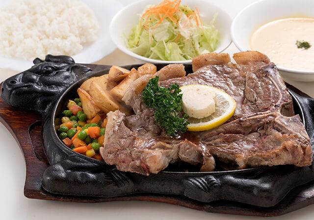 ステーキ・琉球料理 ステーキハウス アラモア