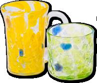 波の花シリーズ ジョッキ ロックグラス