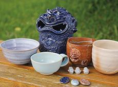 石垣島の陶工房 ラピスラズリ