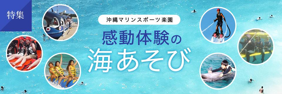 沖縄 マリンスポーツ楽園!感動体験の海あそび テーマ別編