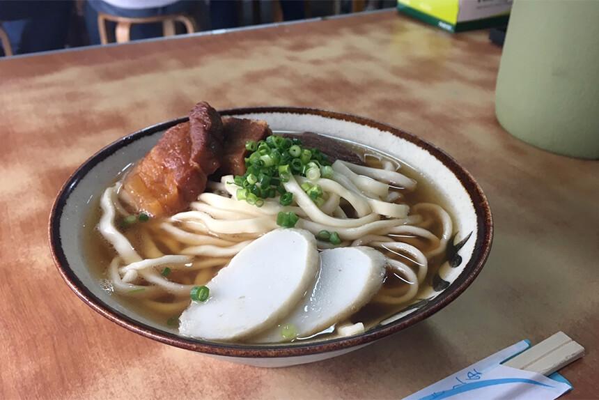 きしもと食堂 沖縄そば