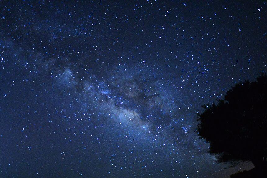 八重山(やえやま)の星空