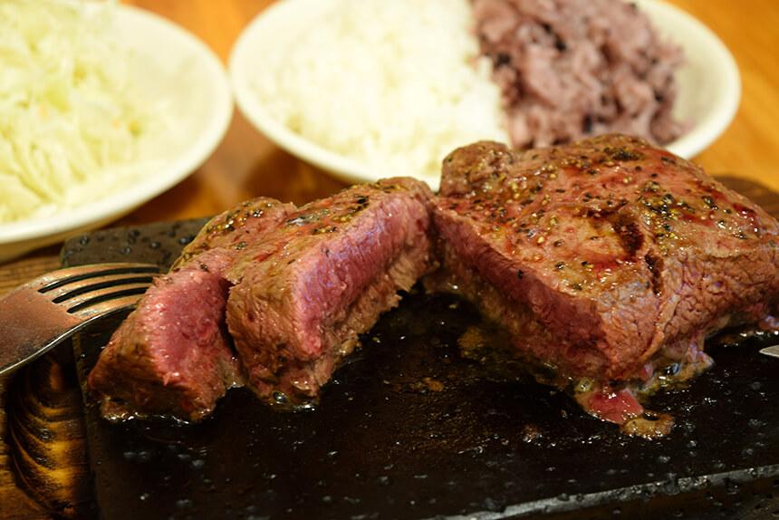 US産のミスジの赤身肉