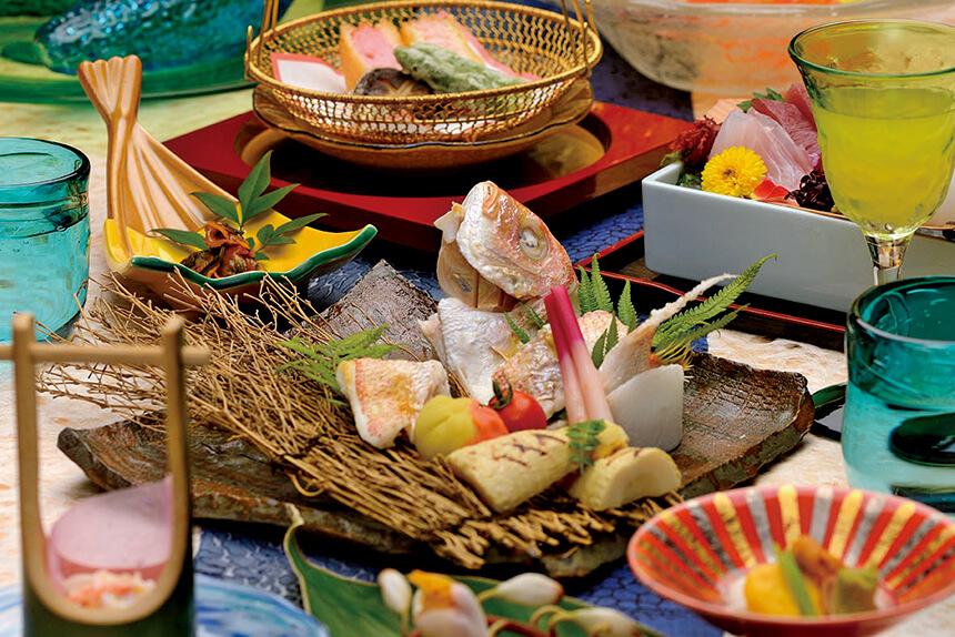 レストランゆらぎ月で琉球料理を堪能