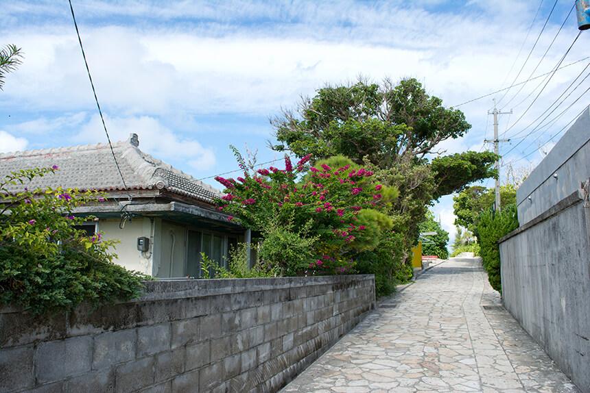 水納島島内散策