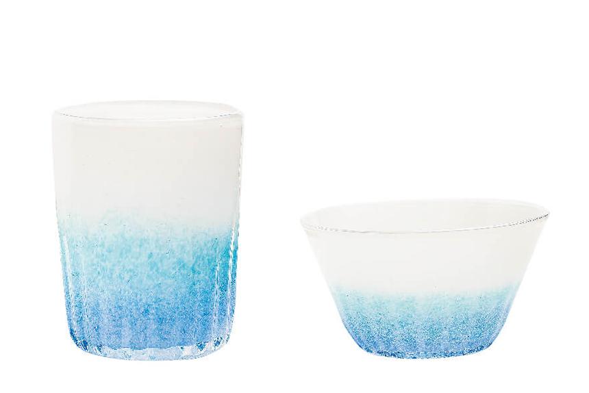グラスアート藍 琉球ガラス