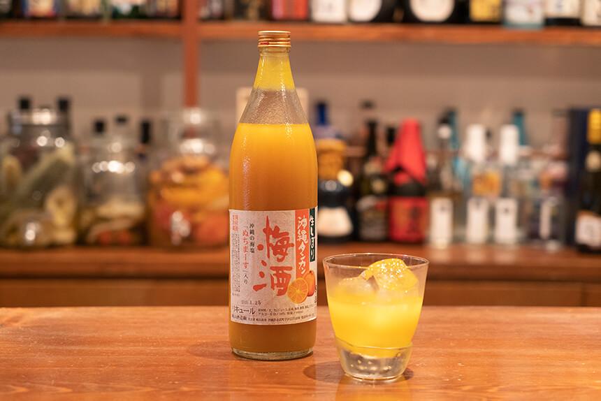 崎山酒造廠生しぼり沖縄タンカン梅酒