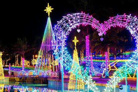 イルミネーションで沖縄の冬がもっと好きになる!おすすめスポット8選
