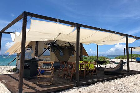 新しい宿泊のカタチ。グランピングで過ごす沖縄旅行