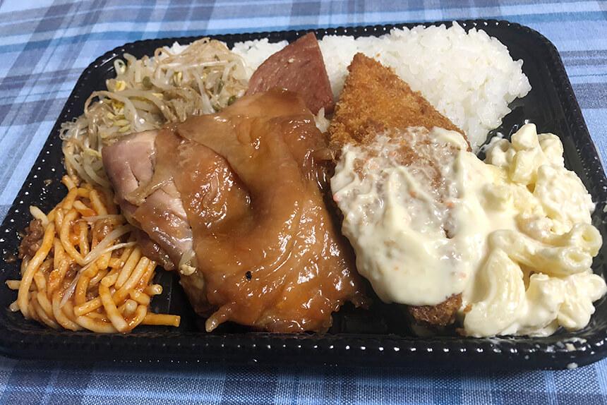 沖縄のお弁当