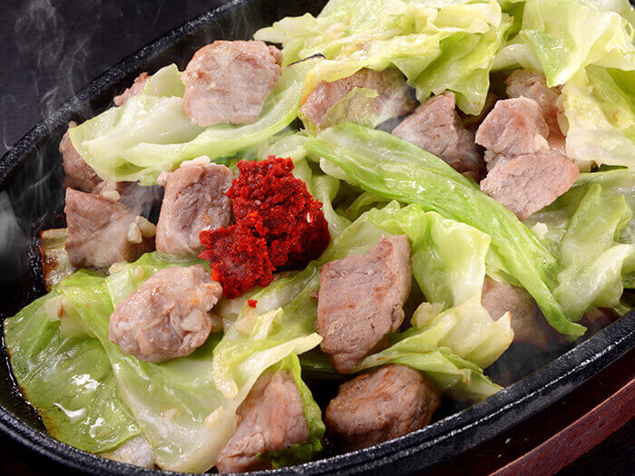 阿古豬鐵板燒肉
