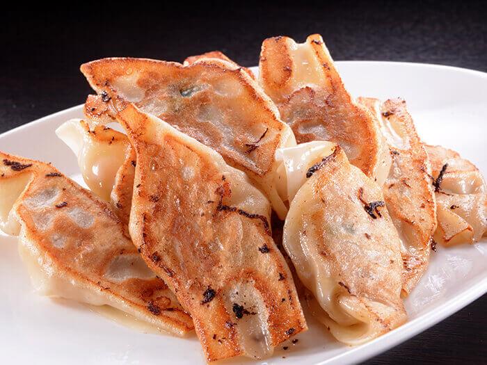 自製阿古豬肉一口煎餃