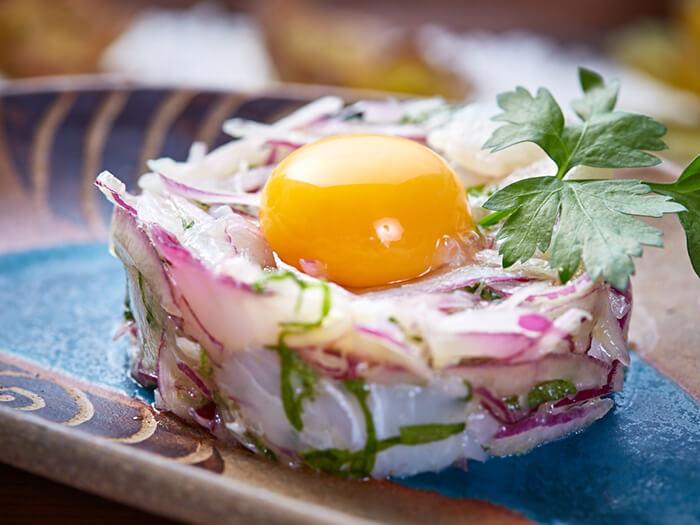 西式白肉魚生切片