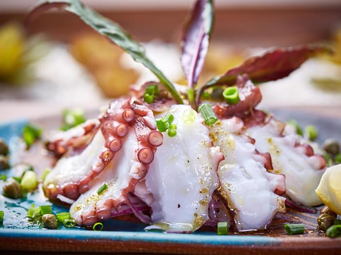 島章魚義式生切片