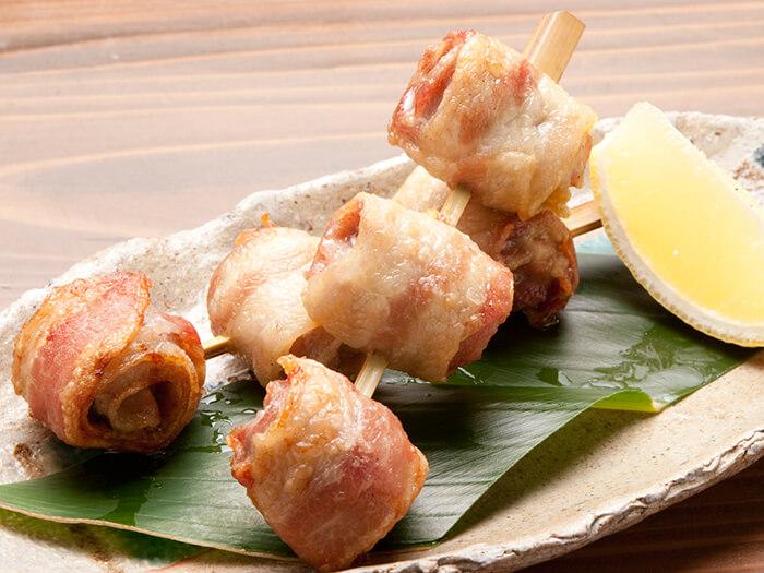 紅阿古豬五花肉串燒