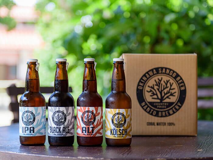 「OKINAWA SANGO BEER」是生於沖繩的地產啤酒。