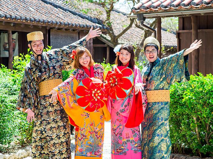 Experience【Ryukyu costume dressing】