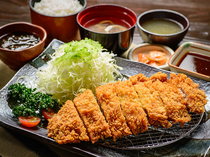 Taste real Agu pork with fried Agu cutlet meal. *limited quantity - ¥2,880.