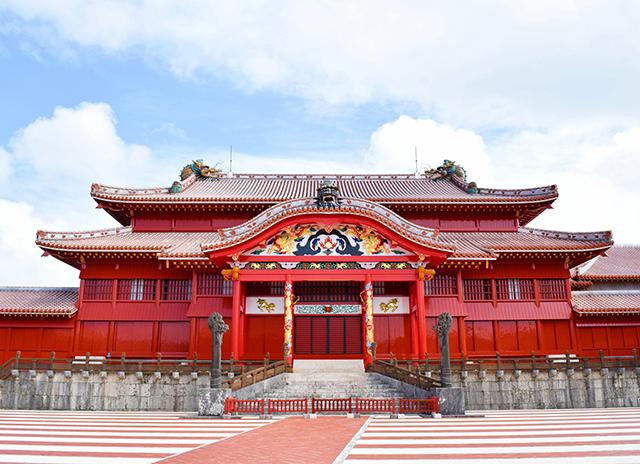 琉球王国の栄華を物語る真紅の世界遺産