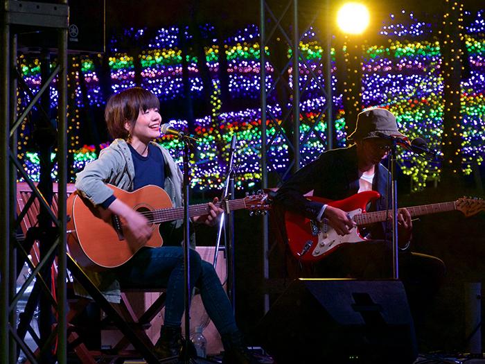 毎日異なるアーティストが出演する「ファンタジア・ミュージックギフト~カヌチャの音まつり~」(期間:2018/11/2~11/30)