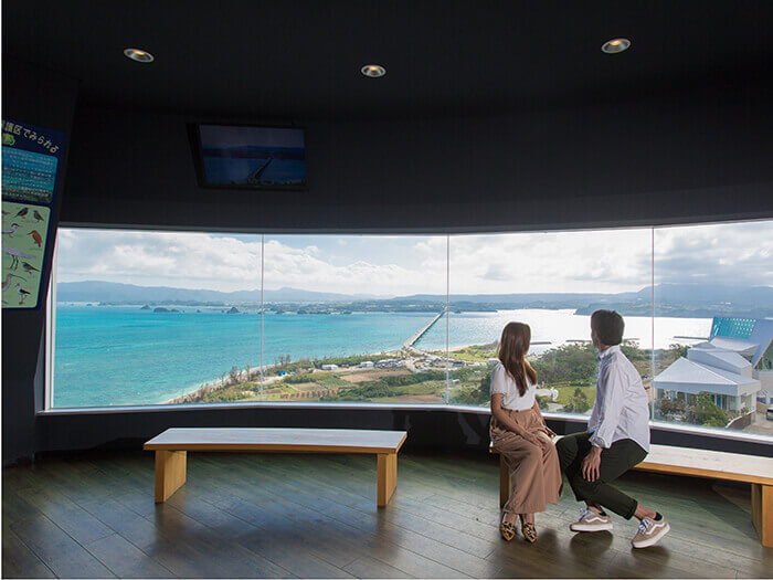 You might just lose track of time being mesmerized by the view from 82 meters up.