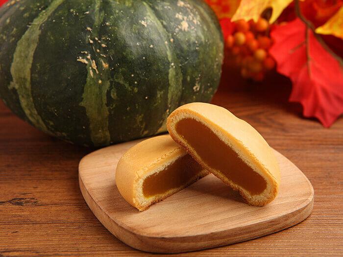 只用古宇利島產南瓜製成的新甜點——日式南瓜饅頭「KABONI」