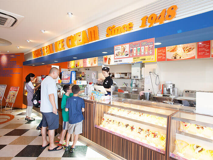 From ice cream to crepes, and even tapioca tea. There are plenty of goodies to try!