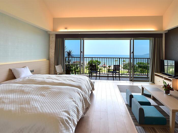 【ガーデンテラスオーシャンビュー】海が見えるお部屋です