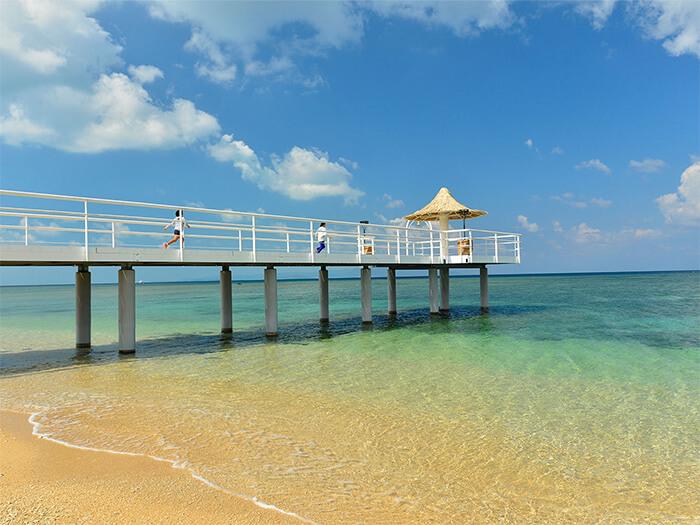 エンジェルピア  フサキビーチのシンボル「エンジェルピア」では挙式も行えます。