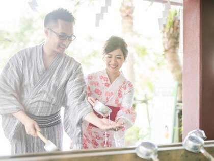 Couples can go on a date dressed in yukatas to festivals and various events.