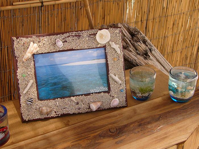 島の思い出フォトフレーム作り(1月~3月)~のんびり散策しながらビーチコーミング~