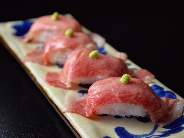 微烤石垣牛握壽司