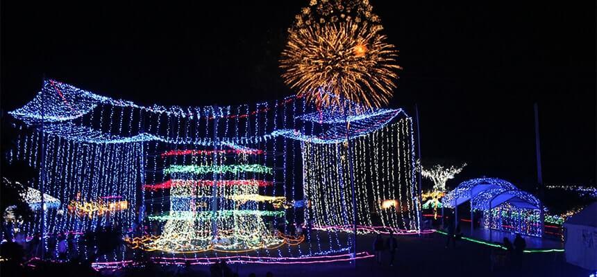 推薦! 沖繩燈光秀活動