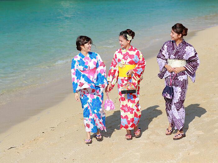 沖繩的湛藍大海,美不勝收!