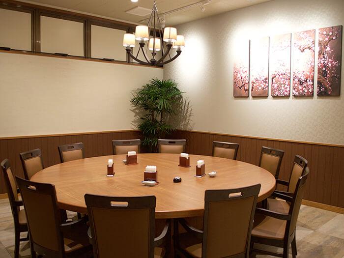 包廂VIP室(設有12個座位)也可供會議或講習使用。