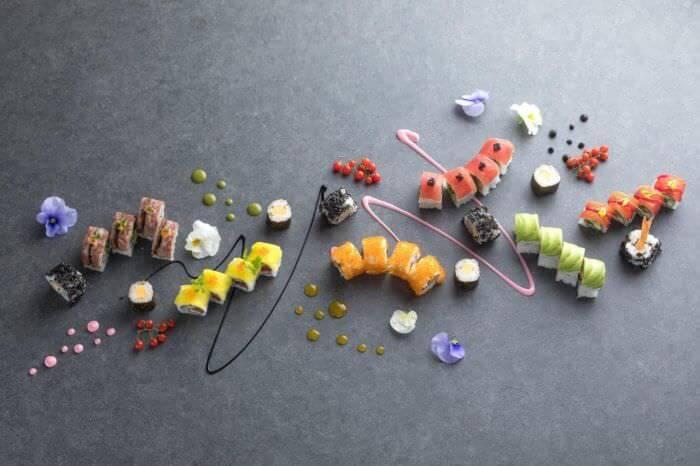 長達1公尺的壽司等,呈現嶄新世界觀的日式美食餐廳SENSES