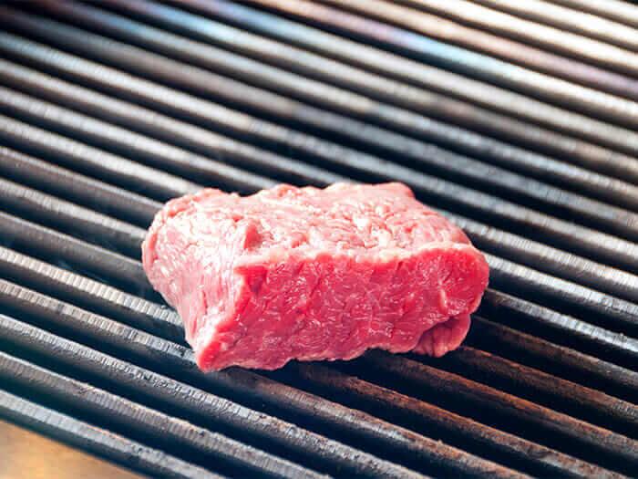 稀少部位的柔嫩美國產肋脊肉(250g)。