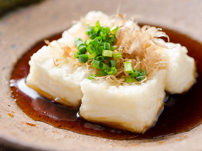 炸花生豆腐