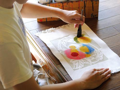 Experience【Bingata dyeing】