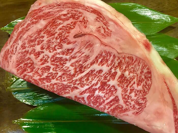 和牛牛排。150克 3,900日圓