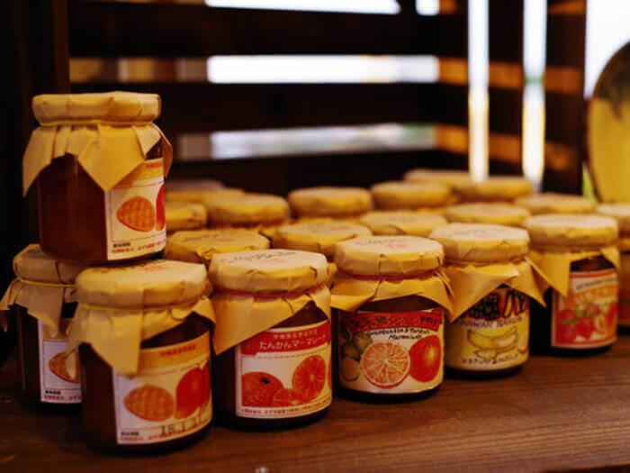 採用沖繩的各式水果,Ginoza果醬工房製作的手工果醬