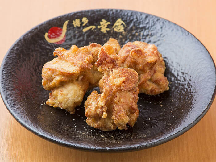 Fried chicken is freshly made-to-order. Perfect to pair with beer!