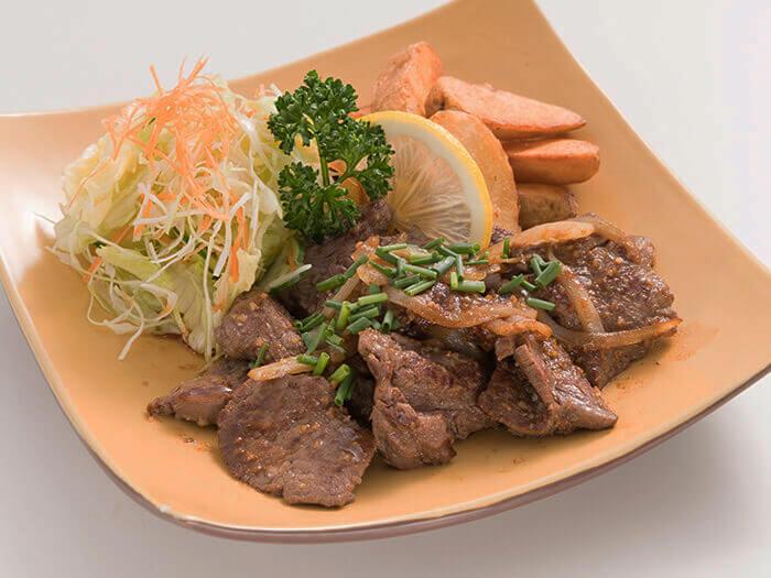 """""""烤肉組合""""的BBQ沙司是十分適於米飯的一品"""