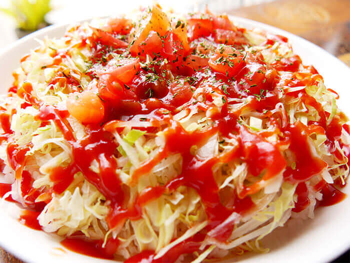 The Taco Rice is a famous Okinawan specialty and the No. 1 junk food of Okinawa.
