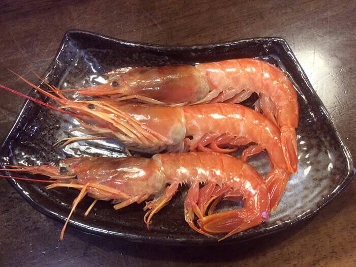 鬚赤蝦1隻 150日圓