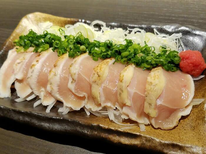 炙燒「宮崎地頭雞」胸肉