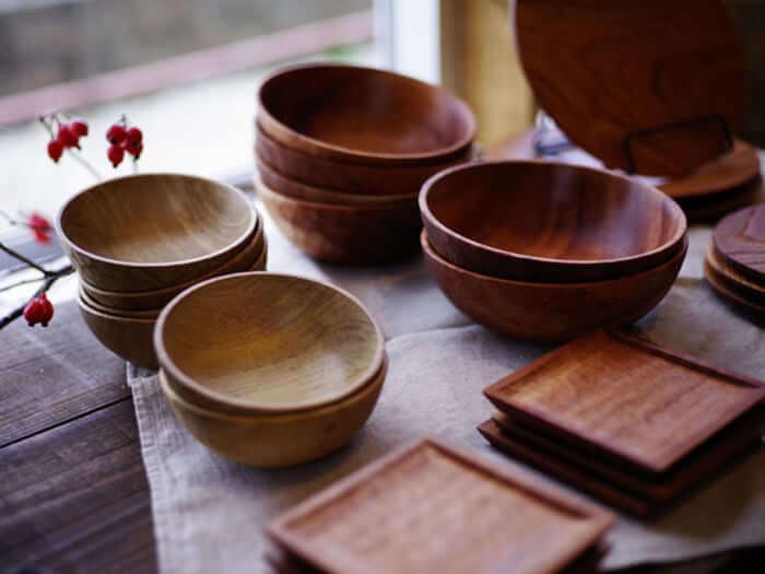 Asato木漆工房製作的沖繩木器