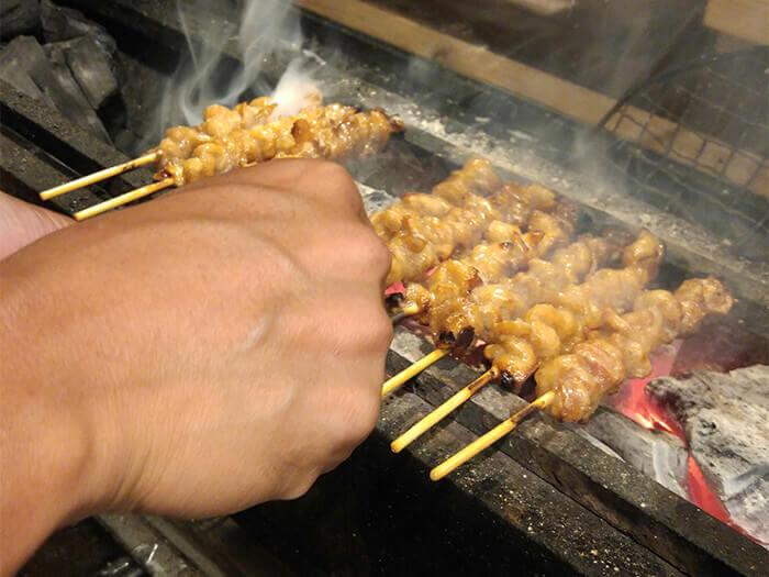 炭烤「宮崎地頭雞」