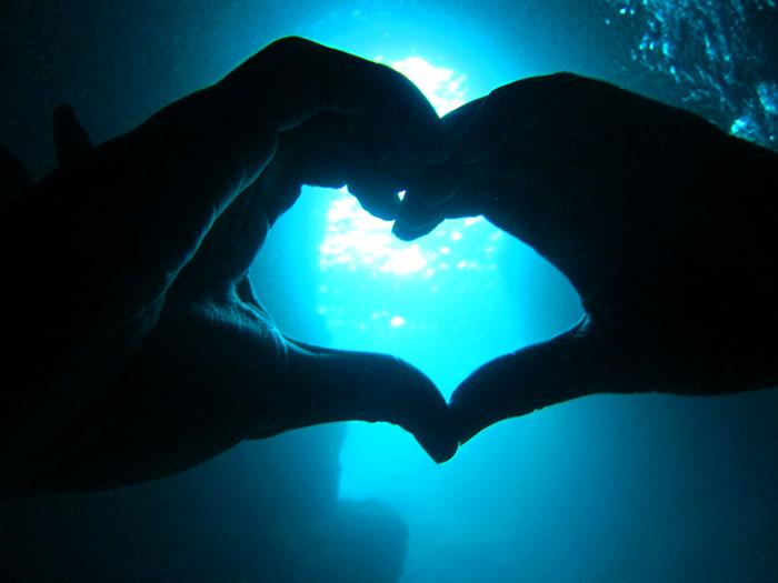在縣內透明度數一數二的海洋享受海上運動!