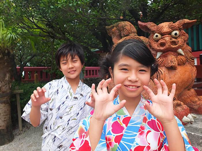 沖繩的守護神 風獅爺